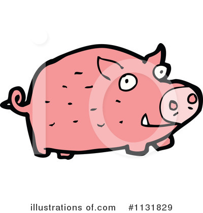 Pig Clipart #1131829 by lineartestpilot