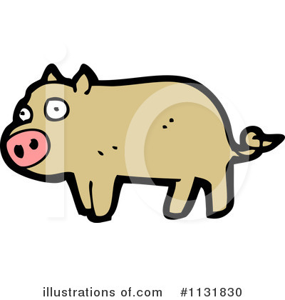 Pig Clipart #1131830 by lineartestpilot