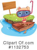Royalty-Free (RF) Pig Clipart Illustration #1132753