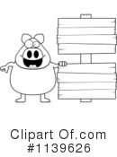 Pig Clipart #1139626 by Cory Thoman