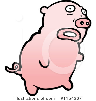 Pig Clipart #1154267 by lineartestpilot