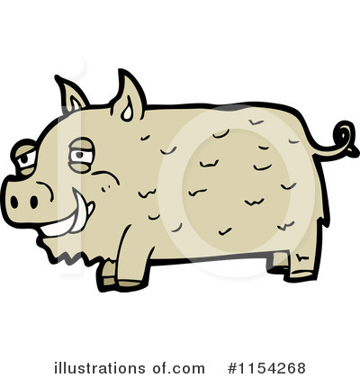 Pig Clipart #1154268 by lineartestpilot