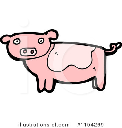 Pig Clipart #1154269 by lineartestpilot