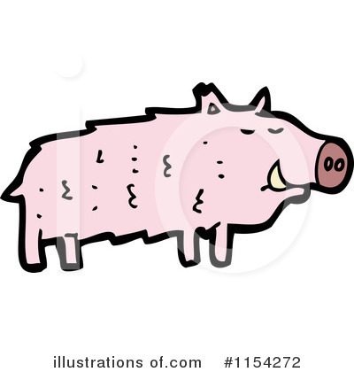 Pig Clipart #1154272 by lineartestpilot