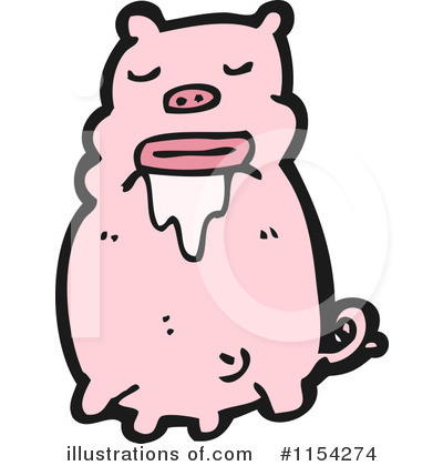 Pig Clipart #1154274 by lineartestpilot