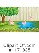 Pig Clipart #1171835 by Graphics RF