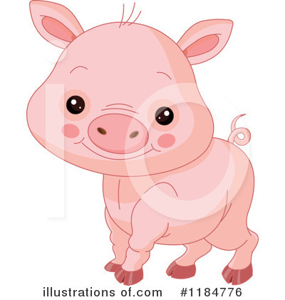 Pig Clipart #1184776 by Pushkin