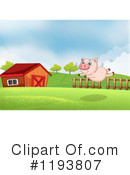 Pig Clipart #1193807 by Graphics RF