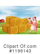Pig Clipart #1196143 by Graphics RF