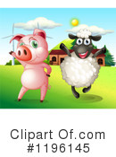 Pig Clipart #1196145 by Graphics RF
