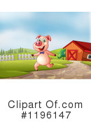 Pig Clipart #1196147 by Graphics RF