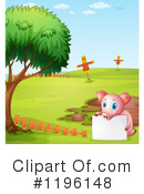 Pig Clipart #1196148 by Graphics RF