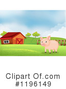 Pig Clipart #1196149 by Graphics RF