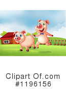 Pig Clipart #1196156 by Graphics RF