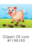 Pig Clipart #1196160 by Graphics RF