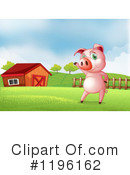 Pig Clipart #1196162 by Graphics RF
