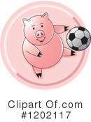 Pig Clipart #1202117 by Lal Perera