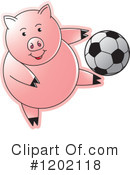 Pig Clipart #1202118 by Lal Perera