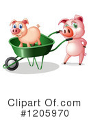 Pig Clipart #1205970 by Graphics RF
