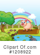 Pig Clipart #1208922 by Graphics RF
