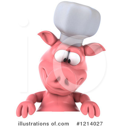 Chef Pig Clipart #1214027 by Julos