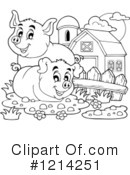 Pig Clipart #1214251 by visekart