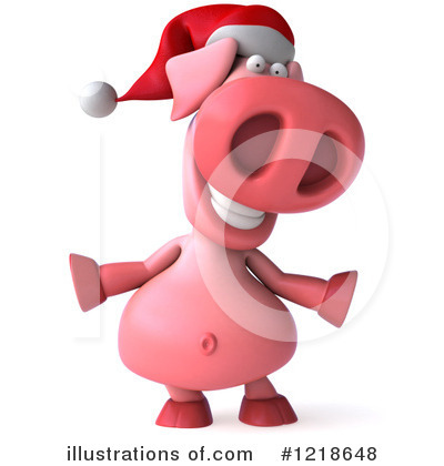 Pookie Pig Character Clipart #1218648 by Julos