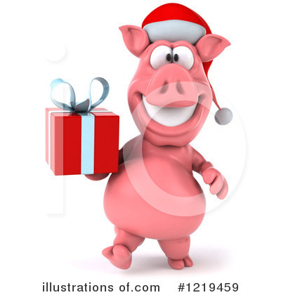 Pookie Pig Character Clipart #1219459 by Julos