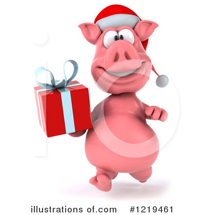 Pookie Pig Character Clipart #1219461 by Julos
