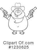 Pig Clipart #1230625 by Hit Toon