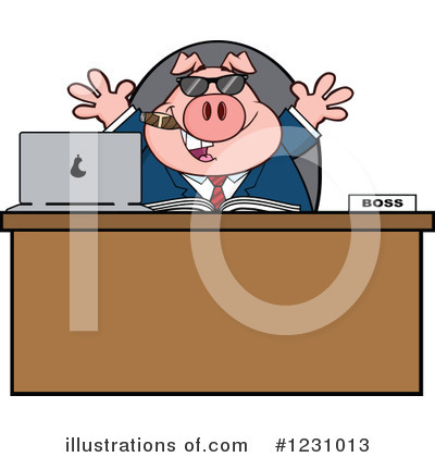 Businessman Clipart #1231013 by Hit Toon