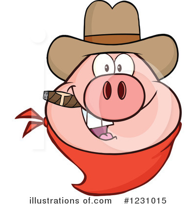 Pig Clipart #1231015 by Hit Toon