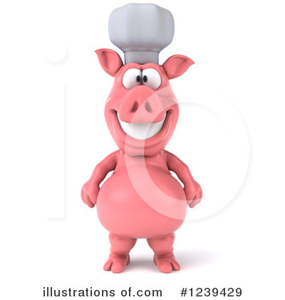 Pig Clipart #1239429 by Julos