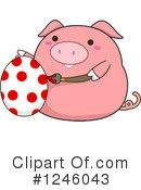 Pig Clipart #1246043 by BNP Design Studio