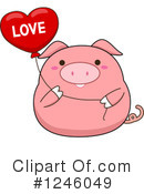 Pig Clipart #1246049 by BNP Design Studio