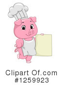 Pig Clipart #1259923 by BNP Design Studio