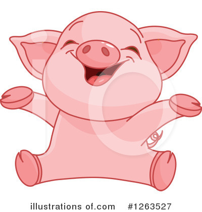 Pig Clipart #1263527 by Pushkin