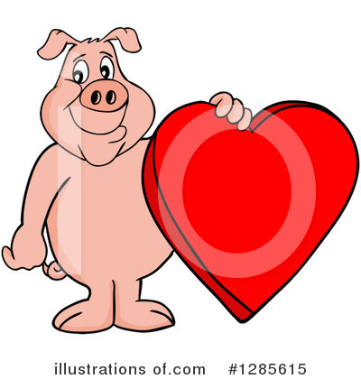 Valentine Clipart #1285615 by LaffToon