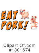 Pig Clipart #1301674 by Graphics RF