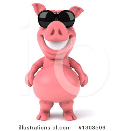 Pig Clipart #1303506 by Julos