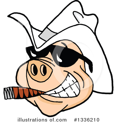 Pig Clipart #1336210 by LaffToon