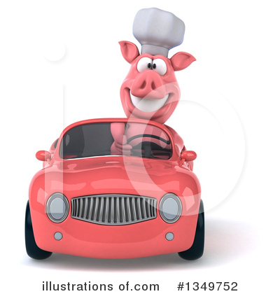 Chef Pig Clipart #1349752 by Julos