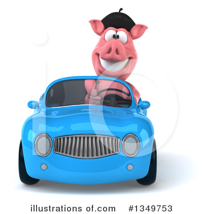 Pig Clipart #1349753 by Julos