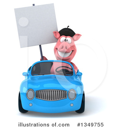French Pig Clipart #1349755 by Julos
