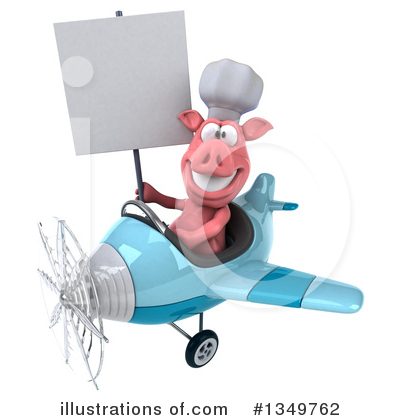 Chef Pig Clipart #1349762 by Julos