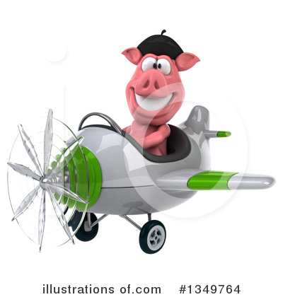 French Pig Clipart #1349764 by Julos