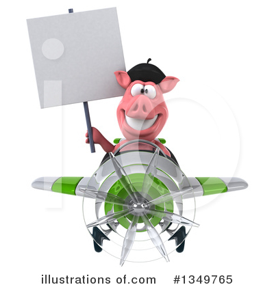French Pig Clipart #1349765 by Julos