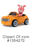 Pig Clipart #1354272 by Julos