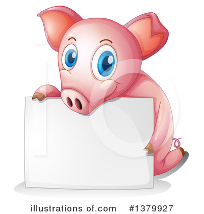 Pig Clipart #1379927 by Graphics RF