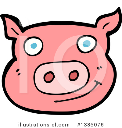 Pig Clipart #1385076 by lineartestpilot